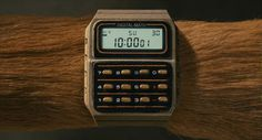 Watches in Fantastic Mr. Fox #animation #fox #watch #design #digital #time #film #fantastic #mr