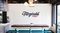 The Identity of The Fitzgerald Burger Company | Abduzeedo Design Inspiration