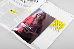 VOLLTEXT Zeitung für Literatur on Behance #print #design #layout #editorial #newspaper