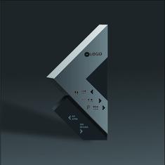 Wayfinding | Signage | Sign | Design | 创意三角形导视牌
