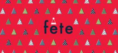 Kaldor | fête #project #word #type #design #christmas #illustration #kaldor #fete