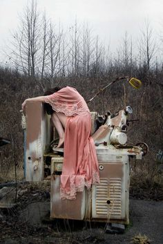 Face of Loneliness: Fine Art and Melancholy Self-Portraits by Vanessa Conway