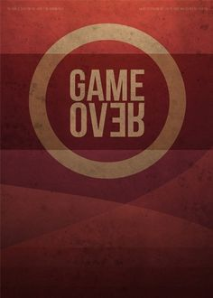 Flyerfolio – A showcase for awesome flyer designs» Blog Archive » Game Over #poster