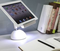 iLight Tablet Stand Lamp #gadget