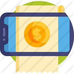 See more icon inspiration related to business and finance, commerce and shopping, ecommerce, electronics, payment, invoice, communications, receipt, ticket, bill and commerce on Flaticon.