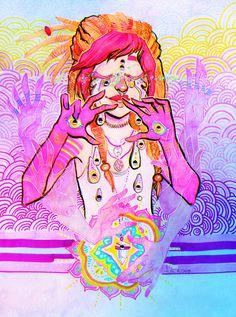#trippy #illustration