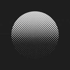 #design #graphicdesign #gif #minimal #halftone #jameszanoni #blackandwhite