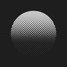 #design #graphicdesign #gif #minimal #halftone #jameszanoni #blackandwhite