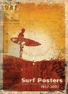 sleepless ink: Vintage Surf Posters, Poster #surf #vintage #poster
