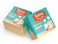 Bread Yeast Extra on Packaging of the World Creative Package Design Gallery #packaging