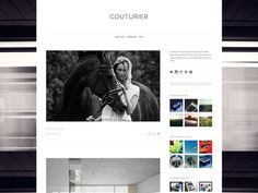 Couturier by UltraLinx #site #design #web #blog