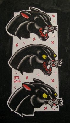 Harriet The Spy | My exploits in the tattoo world. #tattoo #flash #panther #black
