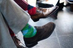STYLINONYOU #style #fashion #shoes #classic #gentlemen #argyle