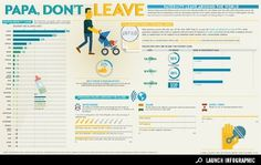 Infographic: Paternity Leave Around the World - News - GOOD #business #leave #infographic #work #paternity