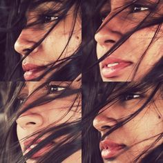 amsel #wind #woman #girl #photo #lips #hair