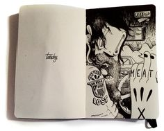 mcbess #doodle #mcbess #moleskine #cartoon #sketch