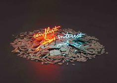 Olivia Steele | PICDIT #sculpture #light #art #neon