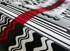 """Odd"" detail by Francisco Elias #design #graphic #art #silkscreen"