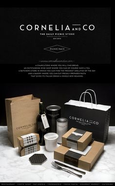 CORNELIA and CO [ Brand identity & Packaging ] #packaging #brand #identity
