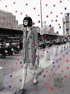 dotted. | magazine love #fashion #mag #magazine