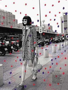 dotted. | magazine love #fashion #mag #magazine