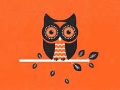 Dribbble - Owl by Zach Graham #illustration #owl #texture