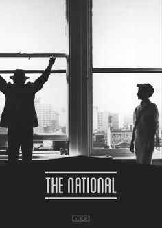 The National - James Kirkups portfolio #kirkups #the #james #poster #national