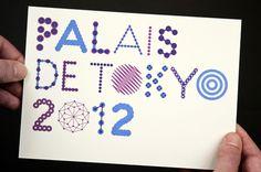 palais de tokyo : H E L M O #type design #dynamic identity #chromatic