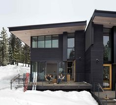 These Mountainside Residences Promote Ecological and Sustainable Design 3