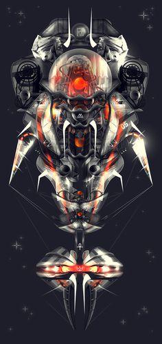 Sonar Fates » Changethethought™ #tech #high #space #robot