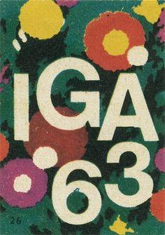 All sizes | German matchbox label | Flickr - Photo Sharing! #flower #design #graphic #typography