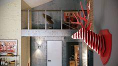 Loft apartment with an interior design made by Paul Vetrov - HomeWorldDesign (6)