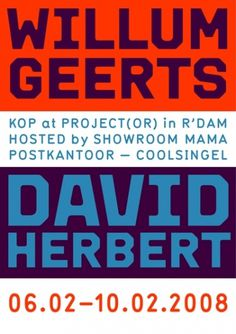 KOP at Project(or) : Rob van Hoesel #poster