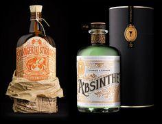 Stranger and stranger via www.mr-cup.com #bottle #packaging #print #illustration #type #typography