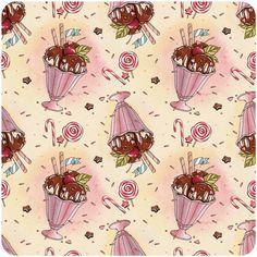holiday patterns on Behance #illustration #pattern #icecreame