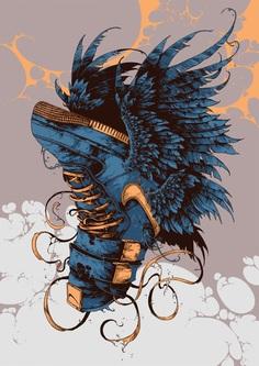Sneaker Beasts by Ivan Belikov