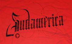 Sudamerica - Marcos Calamato #type #lettering #custom