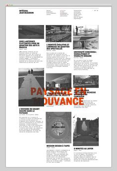 Intégral Jean Beaudoin (stunning typography) #website #layout #design #web