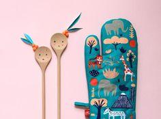 #kitchen #pattern #fun #illustration Donna Wilson