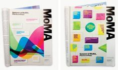Summer Campaign 2009 - The Department of Advertising and Graphic Design #grid #layout #moma