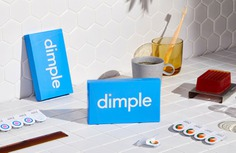 Dimple Brand Identity - Mindsparkle Mag Dari Israelstam, Founder & Creative Director of Universal Favourite created a user-centric brand identity for Dimple. #logo #packaging #identity #branding #design #color #photography #graphic #design #gallery #blog #project #mindsparkle #mag #beautiful #portfolio #designer