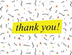 thank you card! #90s #design #card #thankyou #greetingcard #typography #identity