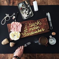 I suck at making sandwiches by Christian Watson