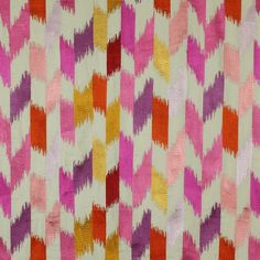 Ish and Chi adds a touch of Palm Springs to her home   Lustable - powered by PayPal #pink #fabric #pattern #textile