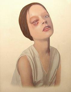 11c218d548a59c4cfde96b9968109b4e.jpg (JPEG Image, 600×776 pixels) #woman #merve #morkoc #painting #art #lakormis
