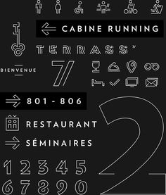 Terrass by WIP Brands #typography #monoweightlines