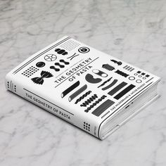 The Geometry of Pasta | Yatzer #cover #illustration #book