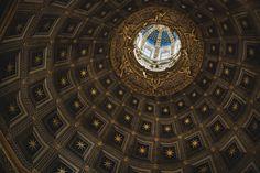 Cupola | Santa Maria Assunta #photography #dome #church #gold #italy