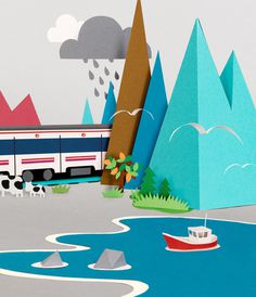 Paper Worlds on Behance