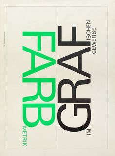 Cover from 1966 Typographische Monatsblätter issue 12